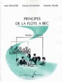Principes de la flûte à bec - Volume 1 : soprano laflutedepan.com
