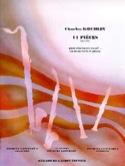 14 Pieces op. 178 Charles Koechlin Partition laflutedepan.com