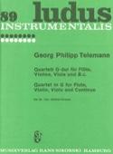 Quartet G-Dur Für Flöte, Violine, Viola Und B.C. laflutedepan.com