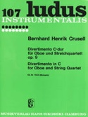 Divertimento En Do Maj. Op. 9 Bernhard Henrik Crusell laflutedepan.com