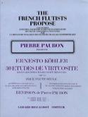 30 Etudes de virtuosité op. 75 - Volume 1 laflutedepan.com