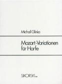 Mozart-Variationen Für Harfe - Harpe - laflutedepan.com