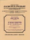 Concerto en Mib Majeur Op. 35 Franz Krommer Partition laflutedepan.com