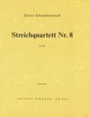 Streichquartett Nr. 8 op. 110 – Stimmen - laflutedepan.com