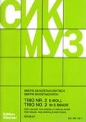 Trio Nr. 2 e-moll op. 67 - Violine Violoncello Klavier - Stimmen laflutedepan.com