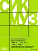 Quintette à Cordes avec Piano op. 57 CHOSTAKOVITCH laflutedepan.com