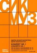 Concerto Violoncello n° 1 op. 107 - Partitur laflutedepan.com