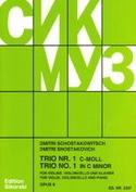 Trio Nr. 1 op. 8 –Stimmen Dmitri Chostakovitch laflutedepan.com