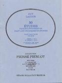 50 Etudes faciles et progr. - Cahier 2 Guy Lacour laflutedepan.com