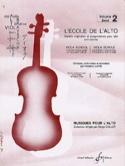 L' Ecole de L'alto Volume 2 Frédéric Lainé Partition laflutedepan.com