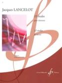 22 Etudes pour clarinette Jacques Lancelot Partition laflutedepan.com