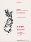 Concerto - Contrebasse Serge Lancen Partition laflutedepan.com