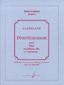 Divertissement -Conducteur + parties Aubert Lemeland laflutedepan.com