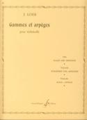 Gammes et Arpèges J. Loeb Partition Violoncelle - laflutedepan.com