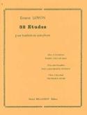 32 Etudes Ernest Loyon Partition Hautbois - laflutedepan.com