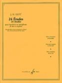 24 Etudes Julius Heinrich Luft Partition Hautbois - laflutedepan.com