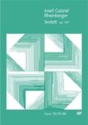 Sextett Op. 191b - Joseph Rheinberger - Partition - laflutedepan.com