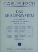 Le Système de Gammes - Violon - Carl Flesch - laflutedepan.com