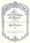 La Musica Notturna Di Madrid -partitur + Stimmen laflutedepan.com