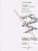 75 Etudes volume 2 Op. 26 - 25 Etudes de Concert laflutedepan.com