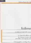 12 Divertimenti (1822) Ernest Krähmer Partition laflutedepan.com