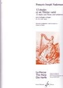 12 Etudes et un Thème varié François-Joseph Naderman laflutedepan.com