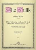 Bläserquintett G-Moll Op. 56 Nr. 2 Franz Danzi laflutedepan.com
