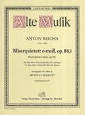 Bläserquintett op. 88 Nr. 1 e-moll -Stimmen laflutedepan.com
