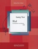 Riul für Klarinette und Klavier 1968 Isang Yun laflutedepan.com