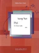Piri für Oboe solo Isang Yun Partition Hautbois - laflutedepan.com