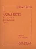 4 Quartette für Kontrabässe oder Violoncelli laflutedepan.com