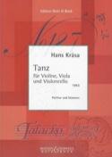 Tanz -Partitur + Stimmen Hans Krása Partition laflutedepan.com