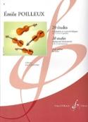 20 Etudes - Emile Poilleux - Partition - Violon - laflutedepan.com