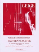 6 Suites BWV 1007-1012 - Violon BACH Partition Violon - laflutedepan