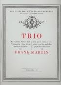 Trio - Violon, Violoncelle et Piano - Frank Martin - laflutedepan.com