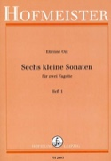 6 kleine Sonaten – Heft 1 - Etienne Ozi - Partition - laflutedepan.com