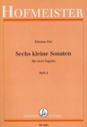 6 kleine Sonaten, Heft 2 Etienne Ozi Partition laflutedepan.com