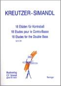 18 Etüden für Kontrabass laflutedepan.com