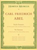 6 sonates – cahier 2 – Viola da gamba (o. Violine, Querflöte) - laflutedepan.com