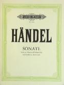 Sonate - Viola da gamba o. Cello HAENDEL Partition laflutedepan.com