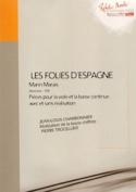 Les Folies D' Espagne - 2ème Livre 1701 Marin Marais laflutedepan.com