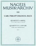 Quartett a-moll Wq 93 – Flöte Viola Violoncello Klavier laflutedepan.com