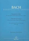 Konzert A-Dur nach BWV 1055 für Oboe d'amore Oboe - Klavierauszug laflutedepan.com