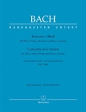 Konzert c-moll nach BWV 1060 – Oboe Violine Klavier - laflutedepan.com
