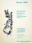 12 Duos classiques Bernard Salles Partition laflutedepan.com