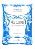 Pieces Classiques Vol 1B Bernard Salles Partition laflutedepan.com