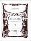Pieces classiques, vol 2B - Contrebasse laflutedepan.com