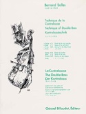 Technique de la Contrebasse Volume 1 Bernard Salles laflutedepan.com