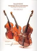 Technique de la Contrebasse Volume 4 Bernard Salles laflutedepan.com