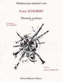 Moments musicaux n° 3 -Quintette à vent - Cond. + parties laflutedepan.com